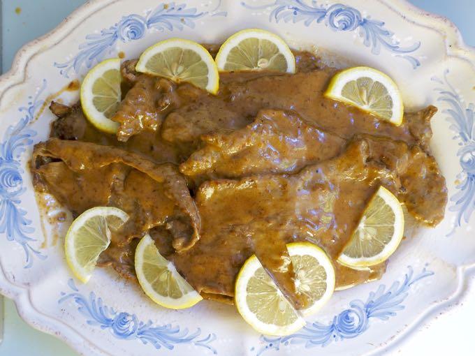 veal piccata {a.k.a. scaloppine al limone}