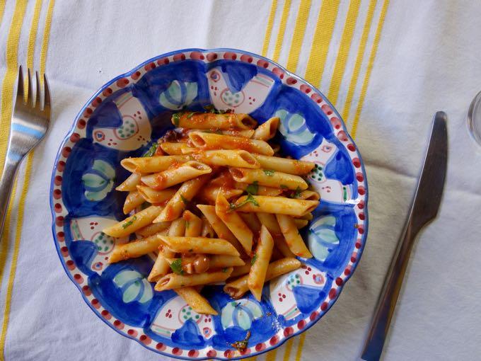 Pasta Elizabeth MInchilli