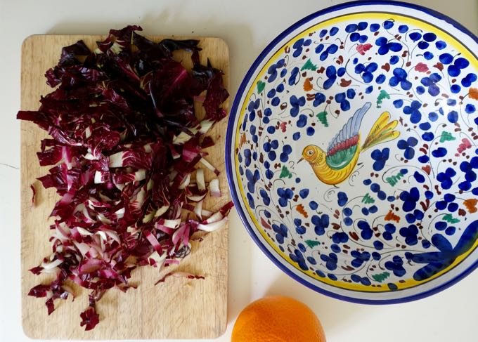 Radicchio and Orange Salad Elizabeth Minchilli