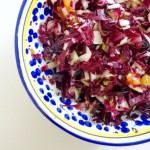 radicchio + blood orange {salad}