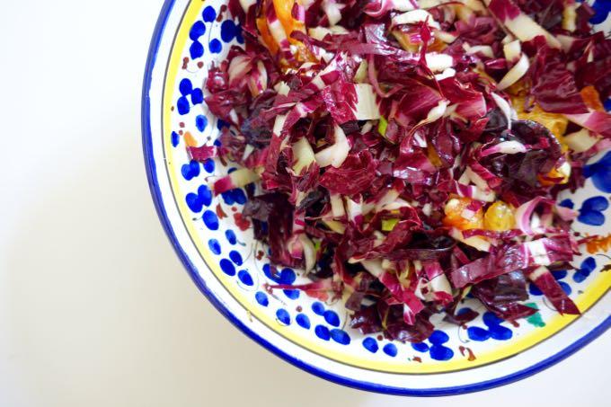 radicchio + blood orange {salad}