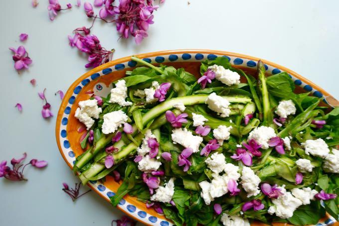 Asparagus Salad Elizabeth Minchilli