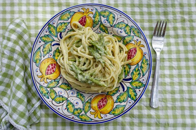 Wild Asparagus Pasta Elizabeth Minchilli