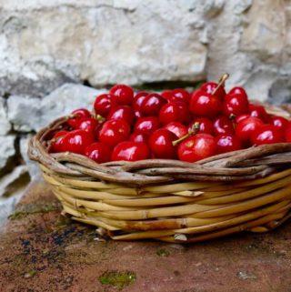 cherries + berries