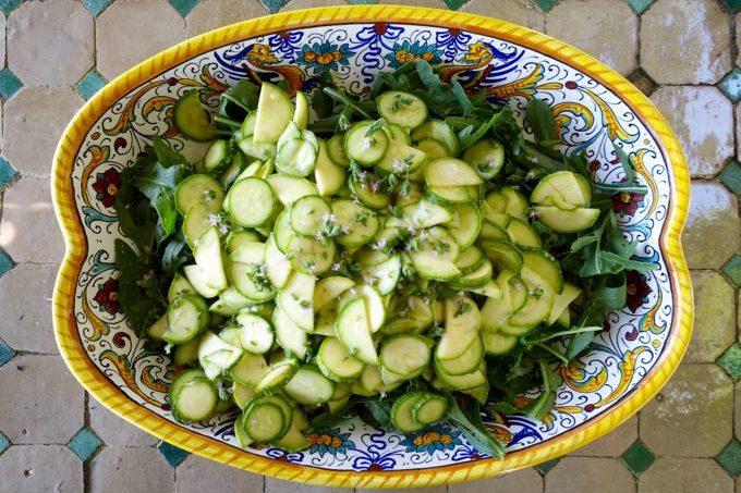 Zucchini and Arugula Salad - 10