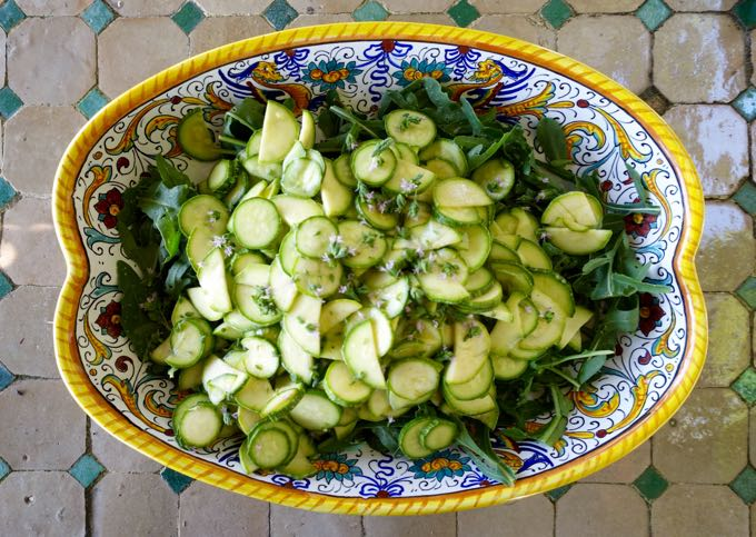 Zucchini and Arugula Salad - 10