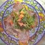 prosciutto + melon salad