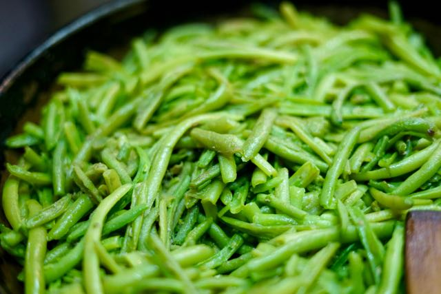 Sicilian Style Green Beans