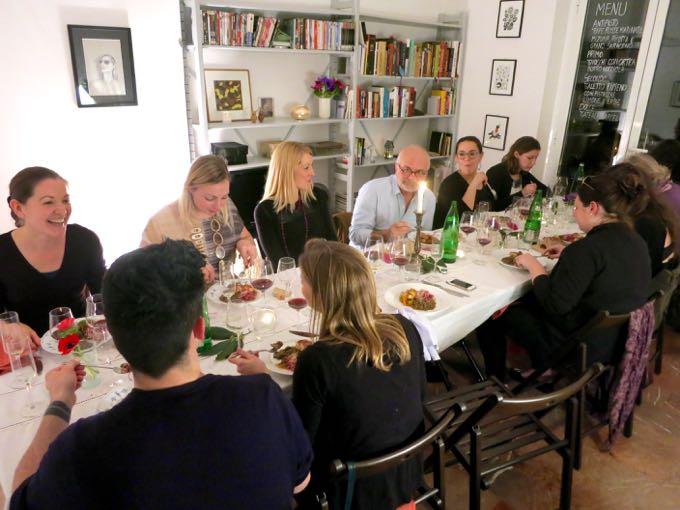 artichoke dinner {rome}