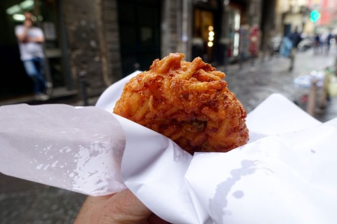 non-pizza snacking in naples
