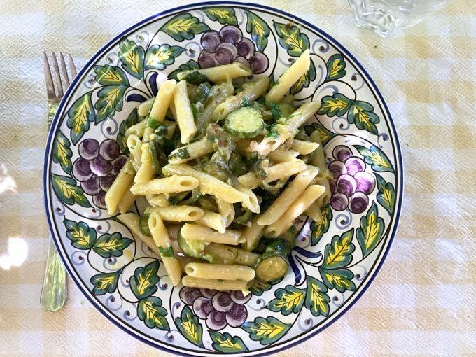 pasta {zucchini + herbs}