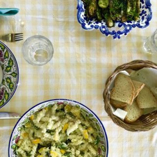 Pasta with Zucchini and Ricotta