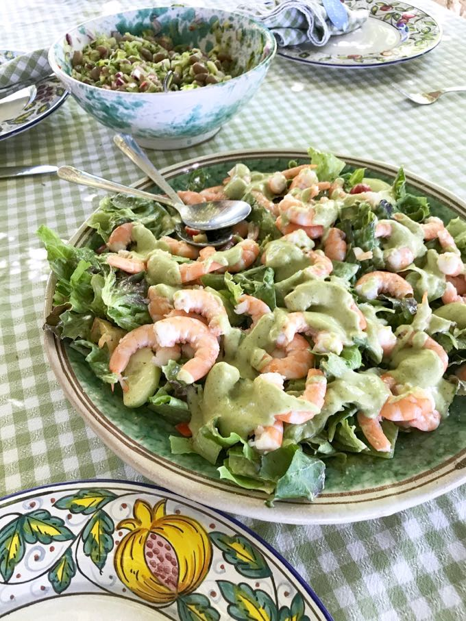Summer Salad Avacado Dressing